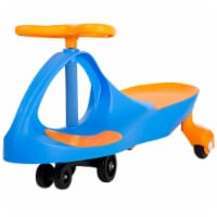 Lil' Rider Blue and Orange Wiggle Ride-on Car Roller Coaster Car Energy Powered Ride on Toy - 1