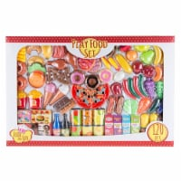 Hey Play 80-PP-1059907 Pretend Play Assorted Food Set - 1