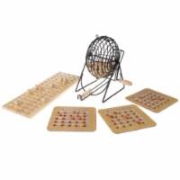 Hey Play 80-DELBINGO Deluxe Bingo Game - 1