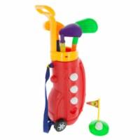 Hey Play 80-DZ-TG Toddler Toy Golf Play Set - 1