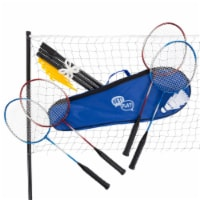 Hey Play 80-DZ-BD Badminton Set Complete Outdoor Yard Game - 1