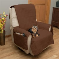 Petmaker 80-PET5076 100 Percent Waterproof Protector Cover for Couch & Sofa - Brown