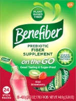 Benefiber On The Go! Kiwi Strawberry Fiber Drink Mixes
