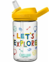 Camelbak Eddy Let's Explore Water Bottle - Yellow