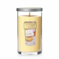 Yankee Candle Vanilla Cupcake Pillar Candle - Cream