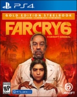 Far Cry 6 Gold Edition Steelbook (PS4/PS5)