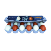 Happy Egg Co. Heritage Breed Free Range Blue & Brown Large Eggs