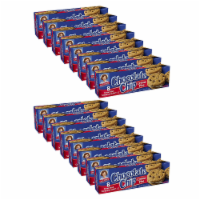 Choc Chip Creme Pies, 16 Boxes, 128 Individually Wrapped Chocolate Chip Pies with Vanilla - 128
