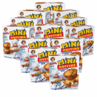 Choc Chip Mini Muffins, 12 Boxes, 60 Travel Pouches of Bite Size Muffins - 60