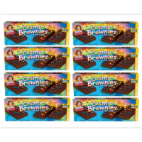 Cosmic Brownie Big Packs, 8 Boxes, 96 Individually Wrapped Brownies with Chocolate Chip Candy - 96