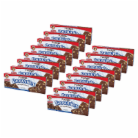Little Debbie Fudge Brownies with Walnuts, 16 Boxes, 96 Individually Wrapped Brownies - 96