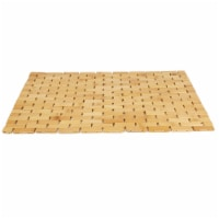 Mind Reader Bamboo Mildew Resistant Bath Mat - 1 ct