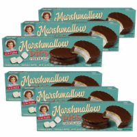 Chocolate Marshmallow Pies, 6 Boxes, 48 Individually Wrapped Chocolate Creme Pies - 48