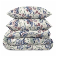 Martha Stewart Amara Jacobean Comforter Set - 3 Piece