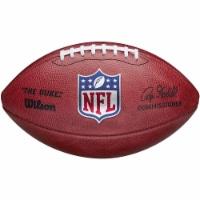 Wilson 8776898868 Official Duke NFL Goodell Color & Logo Football - 1