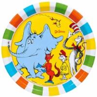 BuySeasons 254645 Dr. Seuss Favorites Dinner Plates - 8 Piece - 8