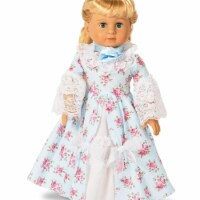 Partytime 248205 Fancy Early American 18 in. Doll Dress - Small