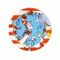 BuySeasons 263913 Dr. Seuss Dessert Plates - 24 Piece