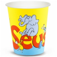 BuySeasons 263917 Dr. Seuss 9 oz Paper Cups - 48 Pack