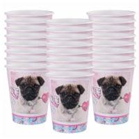 BuySeasons 265031 9 oz Rachael Hale Dog Love Paper Cups - 24 Piece - 24