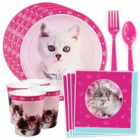 Costume Supercenter 611822 Glamour Cats by Rachael Hale Standard Tableware Kit