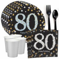 Costume Supercenter 609223 Sparkling Celebration 80th Birthday Standard Table