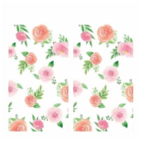 BirthdayExpress 305165 Floral Baby Paper Tablecovers - 2 Piece