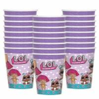 BirthdayExpress 305433 9 oz LOL Surprise Paper Cups - 24 Piece - 24