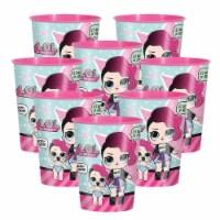 LOL Surprise 307349 16 oz Plastic Cup - 8 Piece