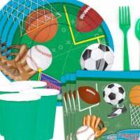 BuySeasons 308982 Sports Birthday Party Standard Tableware Kit - 8 Serve - 1