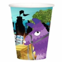 BuySeasons 309439 9 oz Battle Game Cup, Pack of 8 - 1