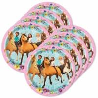 BuySeasons 309257 Spirit Riding Free Dessert Plate - 24 Piece