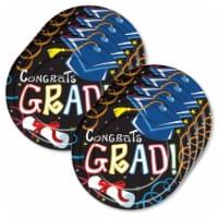 BuySeasons 309596 Graduation Lunch Plate - 24 Piece - 1