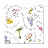 Forum Novelties 310938 Oh the Places Youll Go Lunch Napkin, Multi-Color