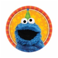 Birth9999 642304 Sesame Street 2 Dessert Plate - Size 2 - Pack of 48 - 1