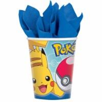 Birth9999 642345 9 oz Pokemon Core Paper Cups - Pack of 48
