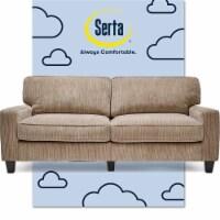 Serta RTA Palisades Collection 73  Sofa in Flagstone Beige - 1