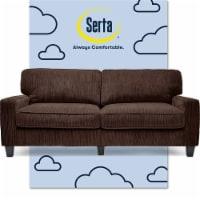Serta RTA Palisades Collection 78  Sofa in Riverfront Brown - 1