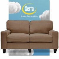 Serta RTA Palisades Collection 61  Loveseat in Fawn Tan - 1