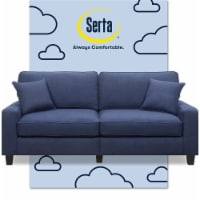 Serta Palisades 78 Sofa Navy Blue - 1