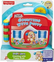 Fisher-Price Electronic Laugh & Learn Counting with Puppy Book