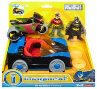 Fisher-Price® Imaginext DC Super Friends Batmobile and Cycle