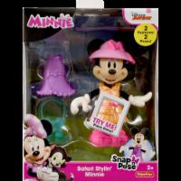 Fisher-Price Disney Snap-n-Pose Safari Stylin' Minnie Figurine