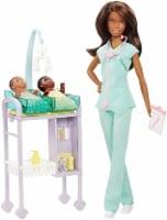 Mattel Barbie® Careers Baby Doctor Doll Playset - Brunette - 1 ct