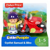 Fisher-Price Little People - Cyclist Samuel & Bike