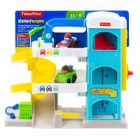 Fisher-Price® Little People Helpful Neighbor's Garage Playset - 3 pc