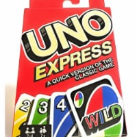 Mattel MTTFLK65 UNO Express Quick Version Family Friendly Fun Board Game - 1