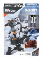 Mega Construx Call of Duty Legends: Winter Heroes Troop Pack - 108 pc