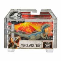 Mattel Jurassic World Attack Pack Blue Velociraptor Action Figure