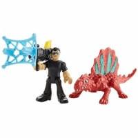 Fisher-Price Imaginext Jurassic World, Dr. Malcolm & Dimetrodon